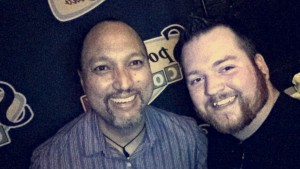Kermit Apio and I after this show.