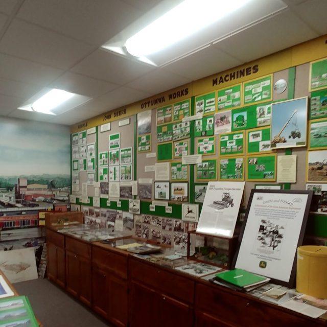 john deere room at Wapello County Historical Museum