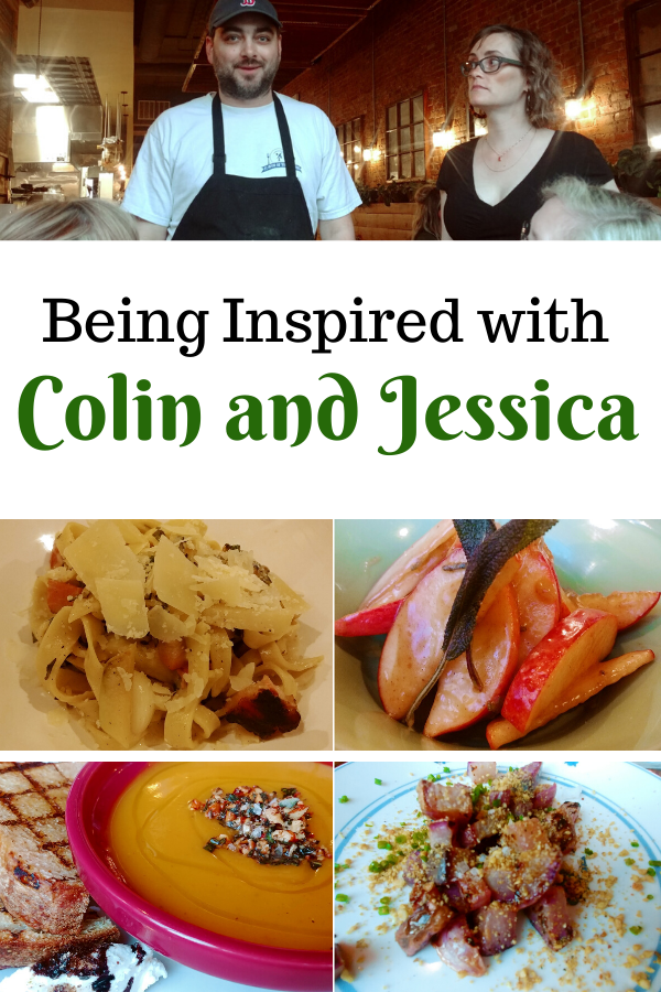 Being Inspired with Colin and Jessica Duggan of Kitchen Table