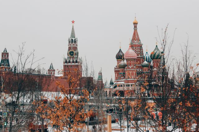 the russian kremlin in moscow