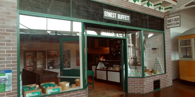 Ernest Buffett grocery store