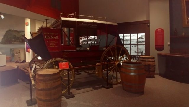 historic stagecoach at durham museum