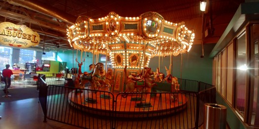 carousel at omaha childrens museum