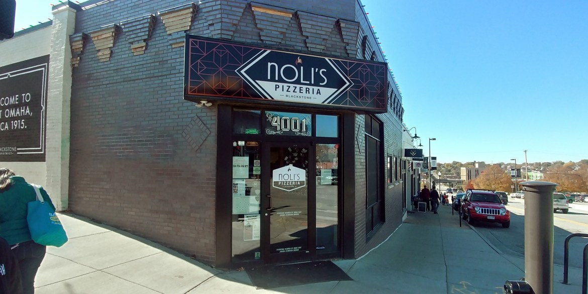 Noli Pizza of Omaha front view