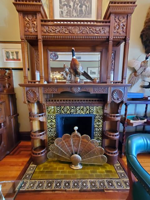 The Baker House - Living History In The Modern Day amazing tile fireplace