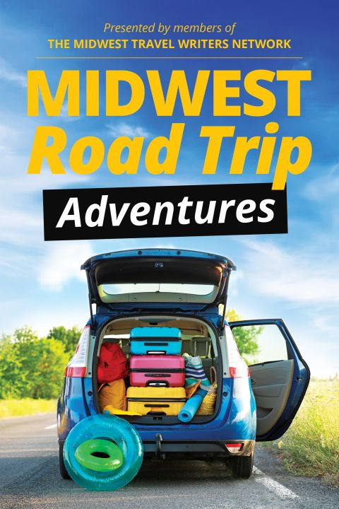 Midwest Road Trip Adventures book cover art