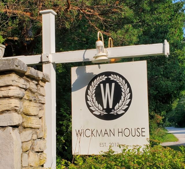 Wickman House sign