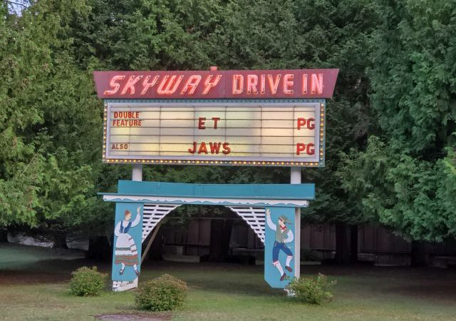 Skyway Drive-In Theater - Entertainment Through Social Distancing