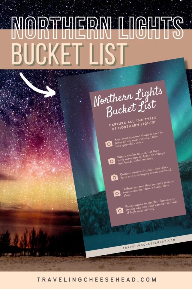 northern lights bucket list