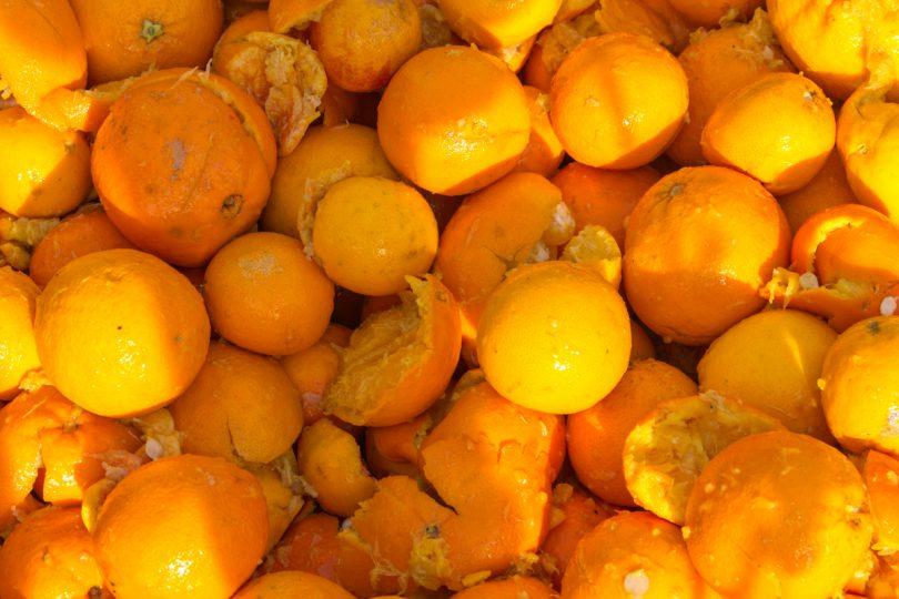 TravelingDebby - Il Carnevale di Ivrea - dettaglio arance