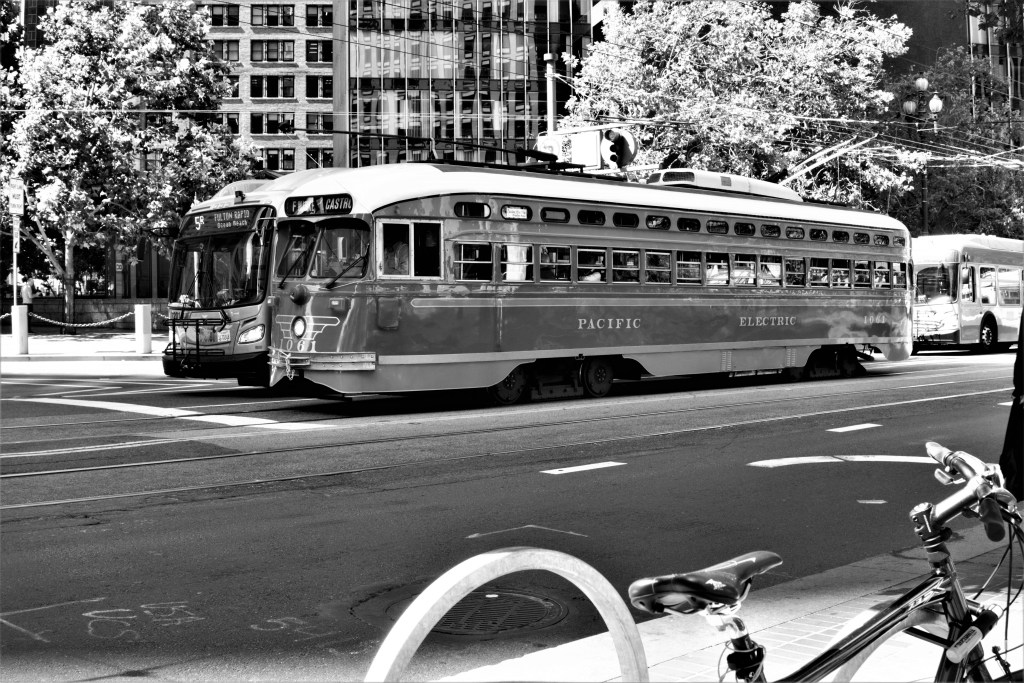 SF Muni. Old and New.