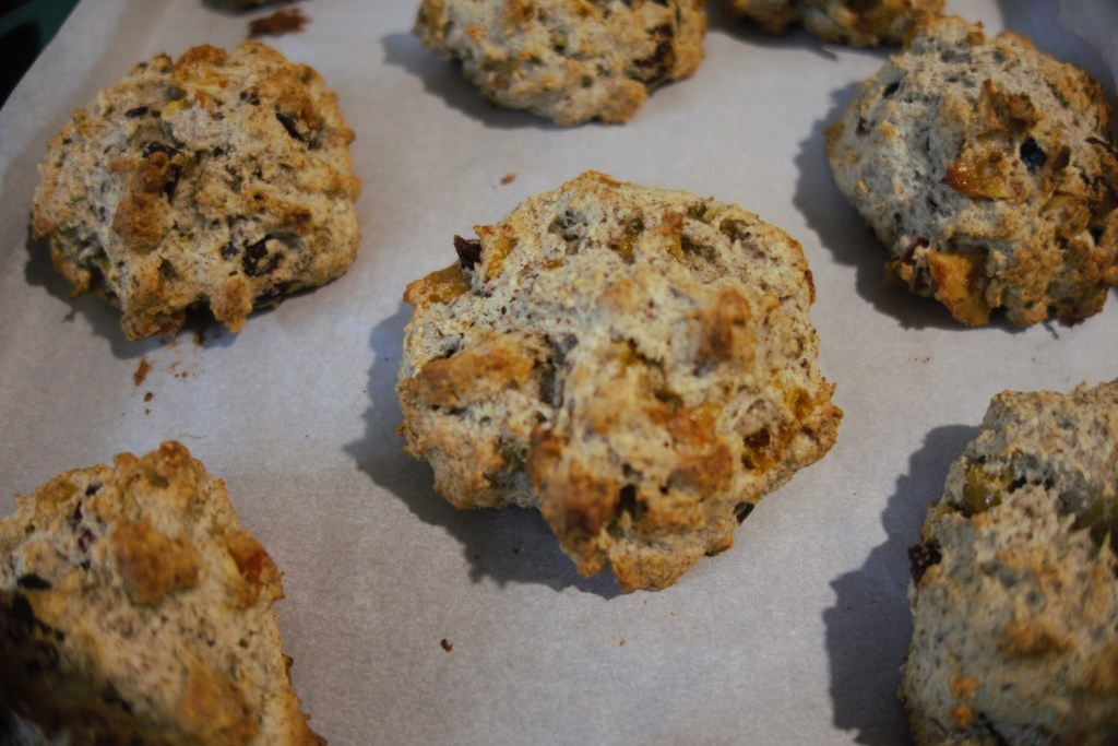 Scones out of the oven!