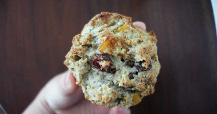 Sundays are for Baking: Scones with Walnuts, Cranberries and Oranges!