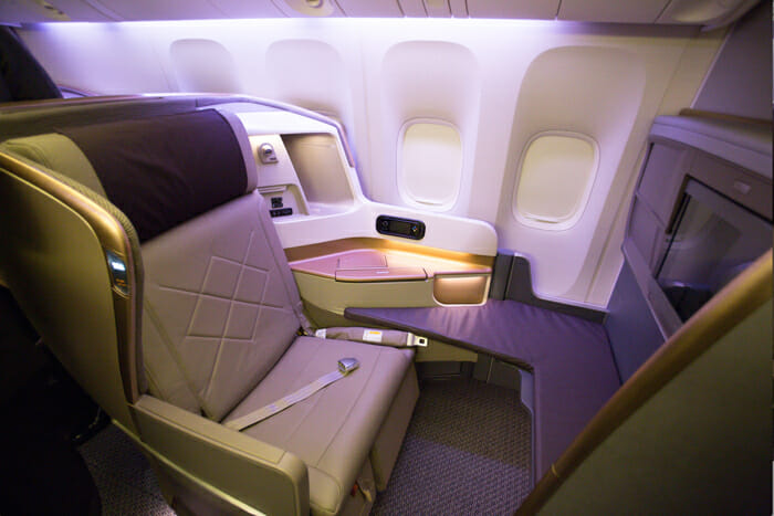 Image result for singapore airlines business class