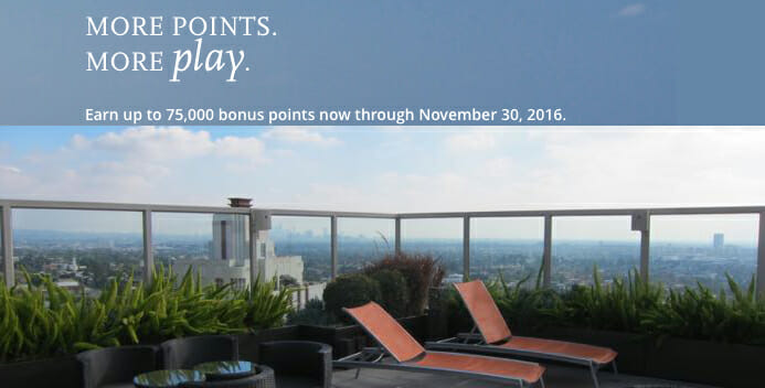 Hyatt More Points More Play Promotion 2016