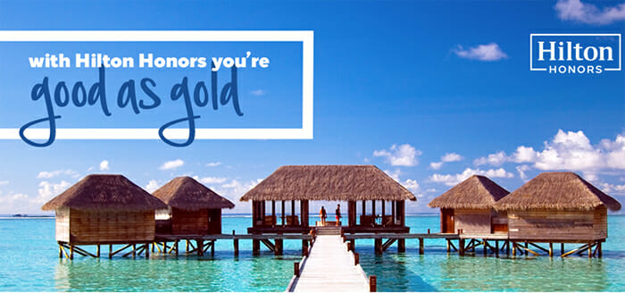 Hilton Honors Gold Status Challenge