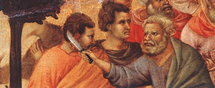Image result for which apostle cut off the ear