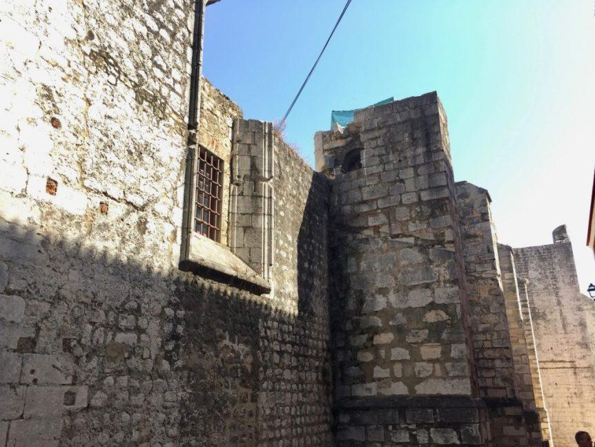 The ruin of Carmo Convent