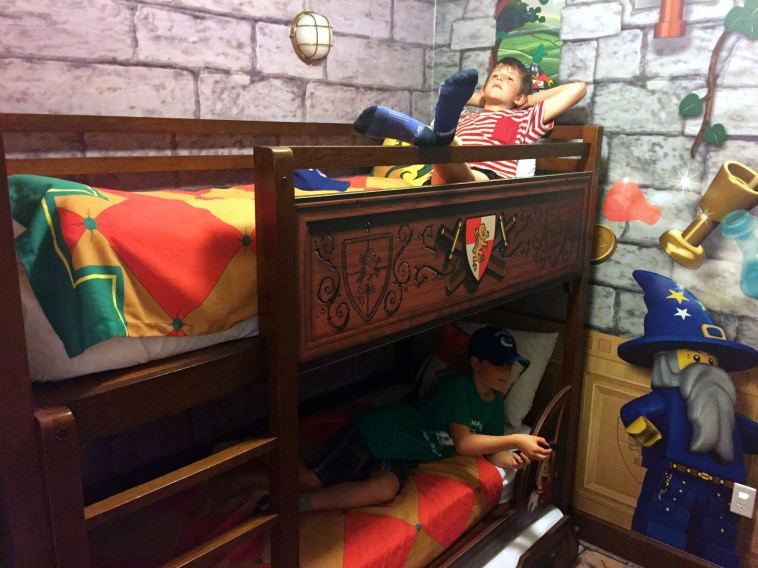 Legoland Hotel, Legoland Kingdom Theme Room