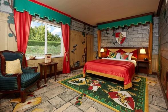 Legoland California, Legoland Hotel, Legoland Kingdom Theme Room