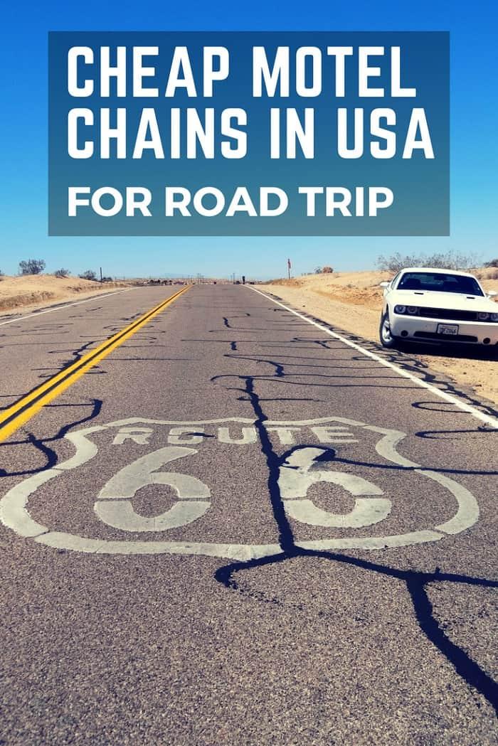 cheap motels - usa road trip