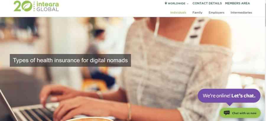 Integra Global - Digital Nomad Insurance