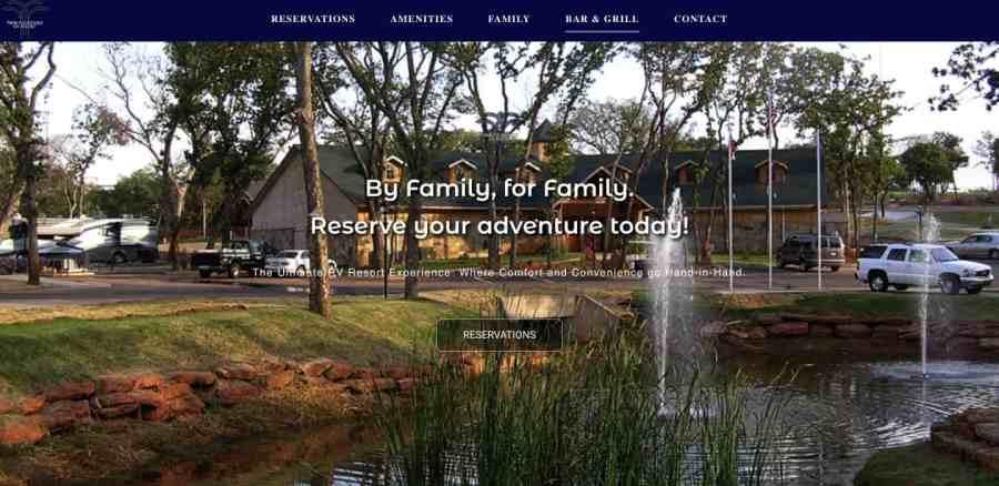Camping Sites Oklahoma
