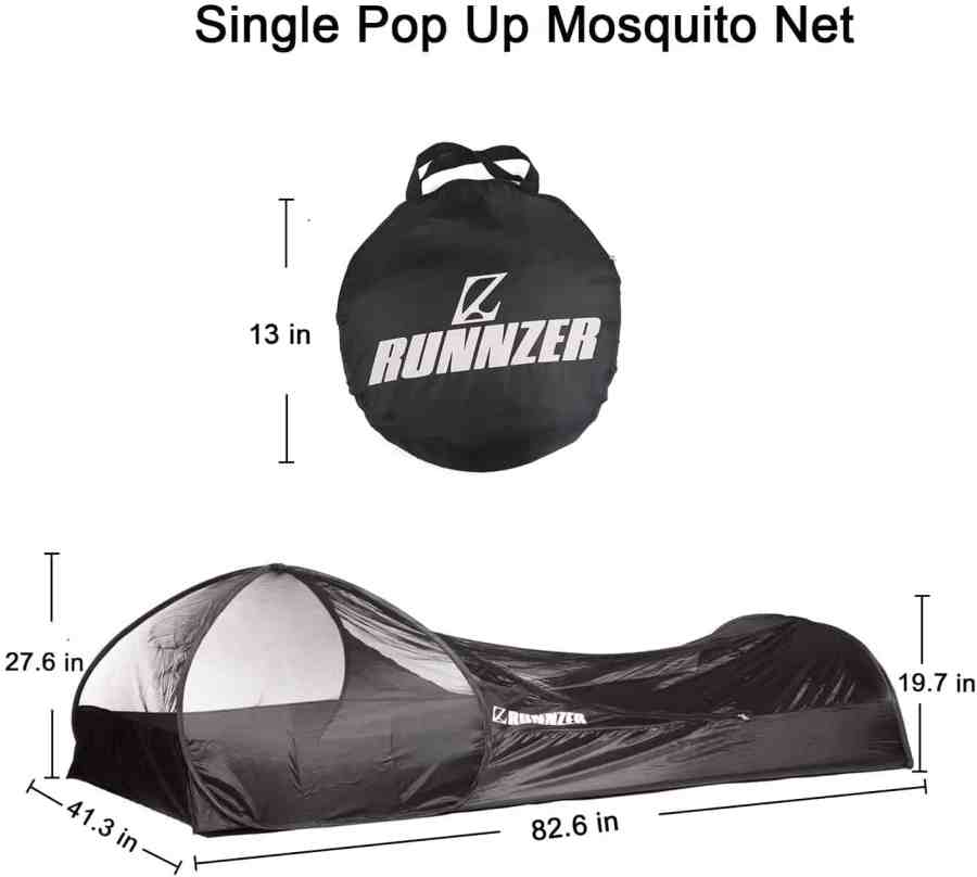mosquito net tent for one person