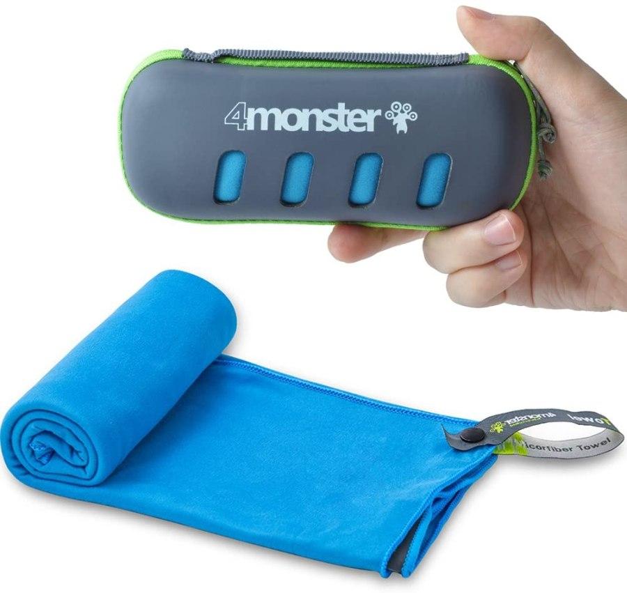 4Monster Microfiber Travel Towel