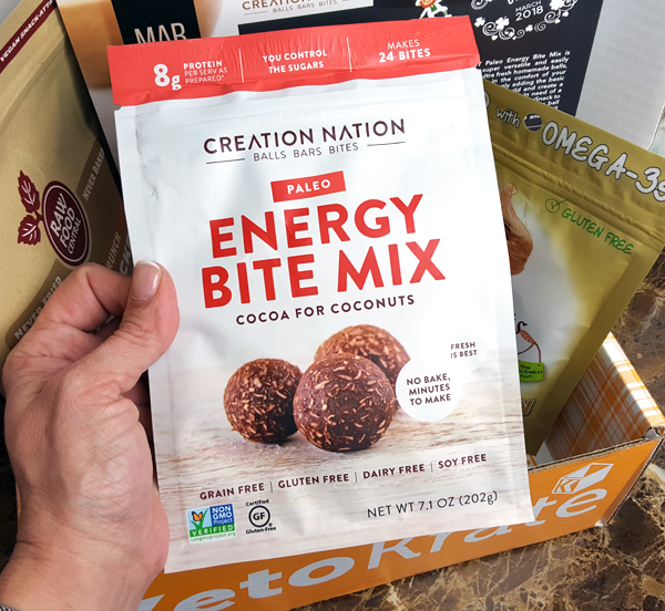 Creation Nation Energy Bite Mix