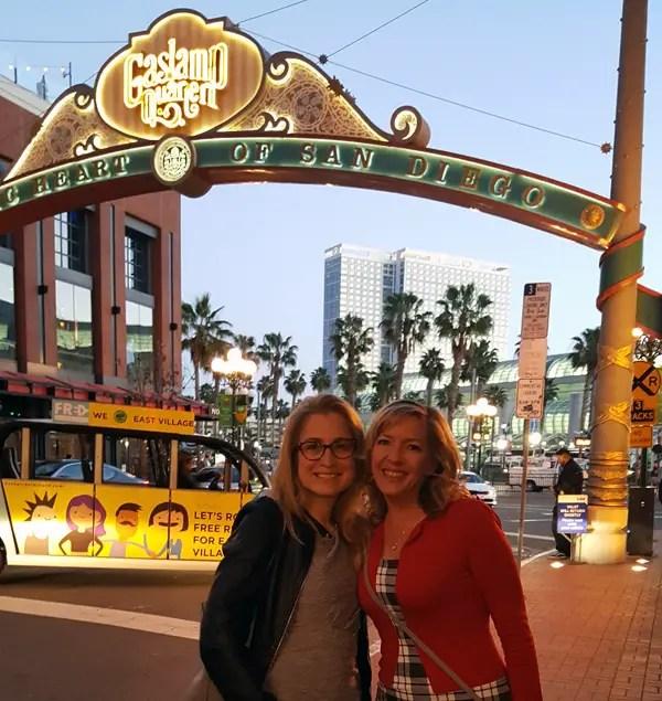 Gaslamp Quarter San Diego - Traveling Low Carb