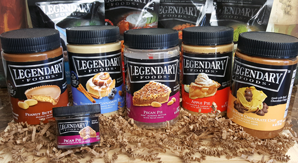 Legendary Foods Flavored Almond Butters - Low Carb and Keto Friendly