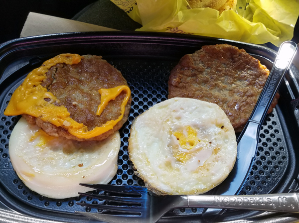 McDonald's Low Carb Options