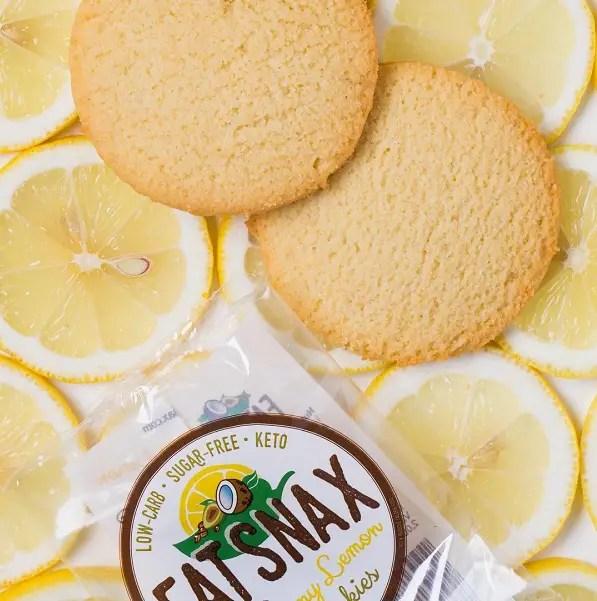 FatSnax Lemon Cookies
