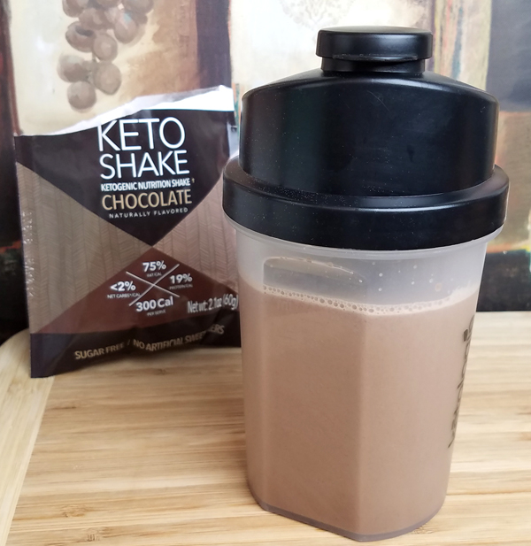 Chocolate Keto Shake - Easy Low Carb Breakfast On The Go