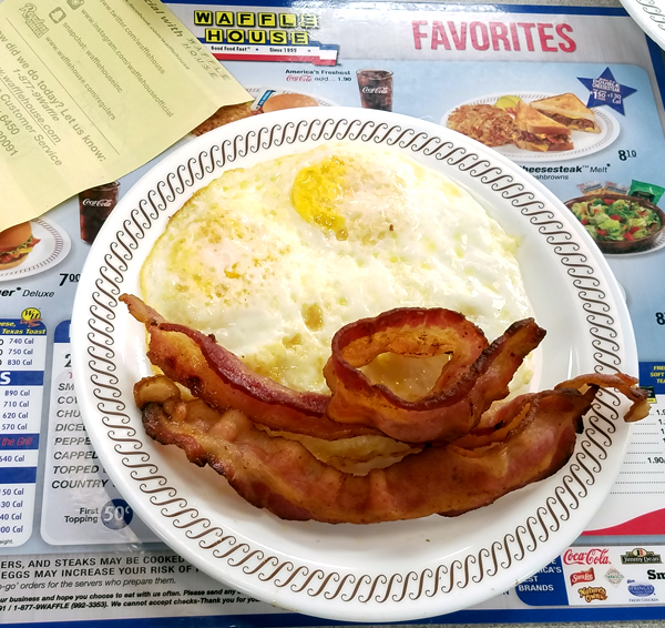 Staying Keto at Waffle House