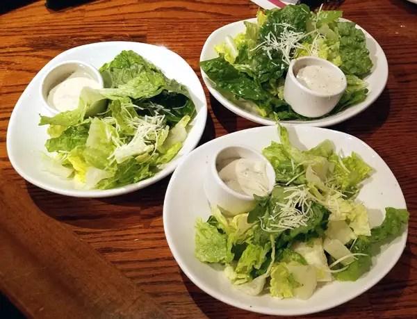 Keto Side Salads - Low Carb Restaurant Meals