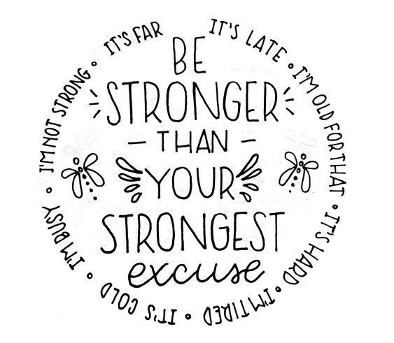 Challenge Yourself - Be Stronger