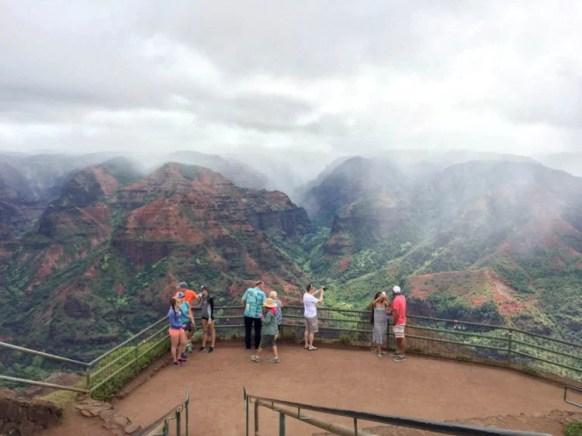 Hiking Waimea Canyon in Kauai. Photo: Mindy Marzec, This Fairy Tale Life