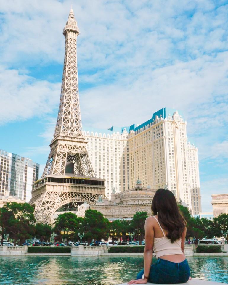 Paris Las Vegas | Instagram-Worthy Photos You'll Want to Take in Las Vegas w/ Captions | TravelingPetiteGirl.com | #lasvegas #instagram #travel #photography