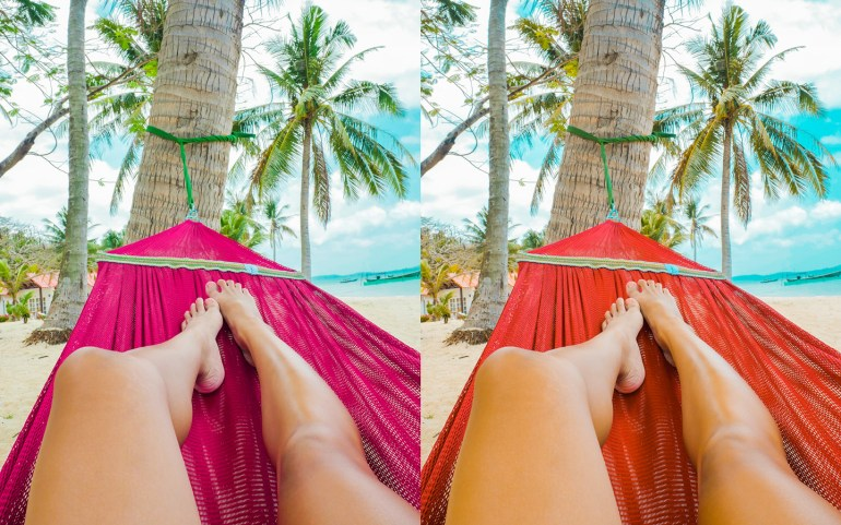 How to create the orange teal filter using Adobe Lightroom. It's so easy!