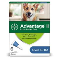 Bayer Advantage II Topical Flea Treatment Dogs