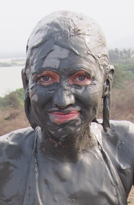 Schlammbaden im Mud Volcano