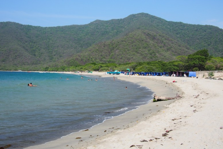 Playa Concha in Kolumbien