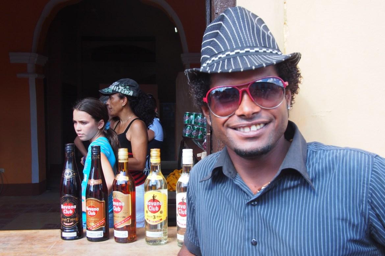 Salsa Lehrer in Trinidad, Kuba