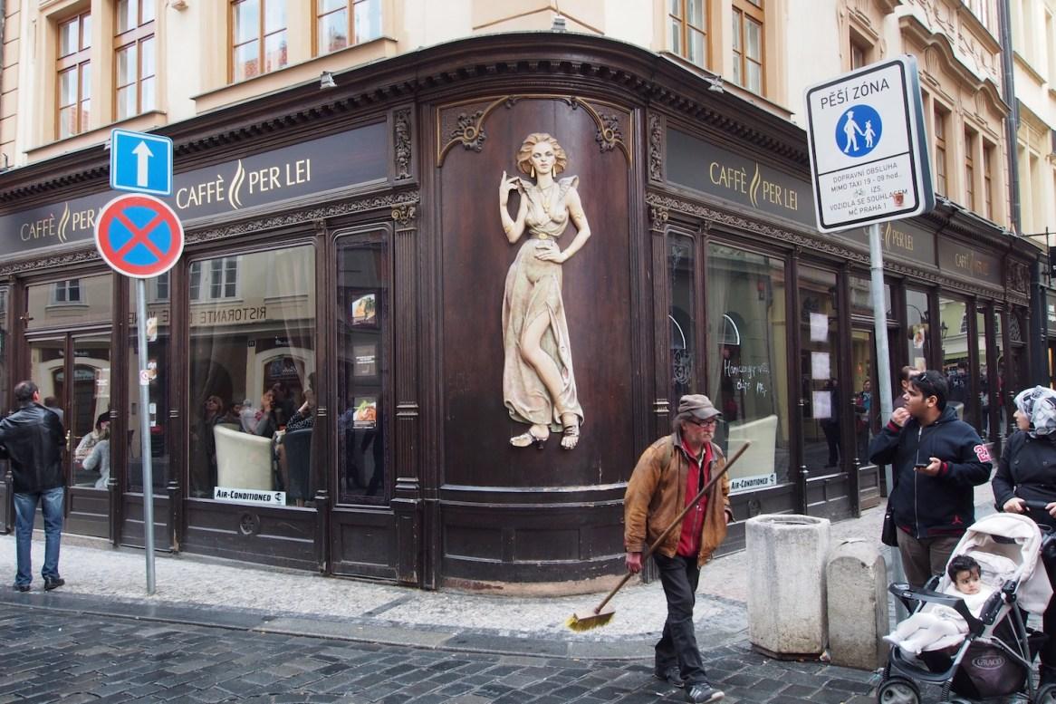 Cafè in Prag