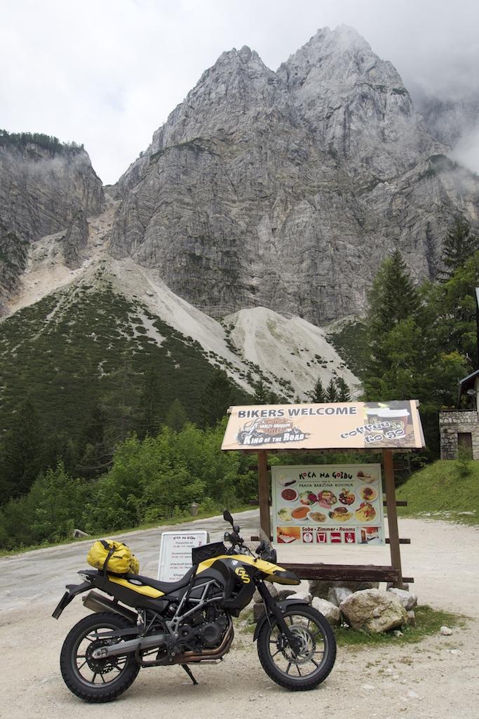 Kurvenspass in Slowenien