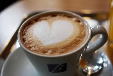 Kaffeebar in Amsterdam