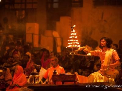 Aarti Ceremony, Varanasi, India