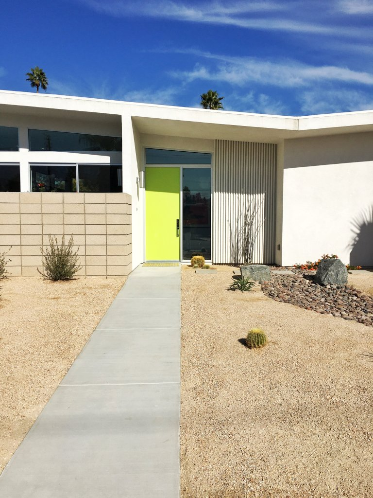 The Colorful Doors of Palm Springs | Traveling Spud